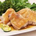 簡単!すだち消費に☆鶏肉のソテーすだちソース添え、ちぃの「ごめん」 by shinkuさん