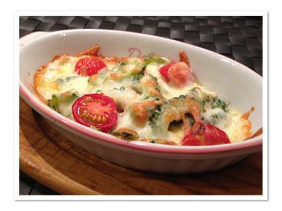 ゴーヤとツナのチーズ焼き~ポロンシャンプー