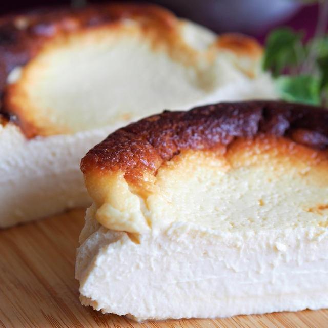 【レシピ・お菓子】紅茶風味のバスク風チーズケーキ♡