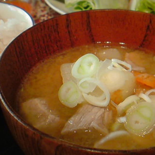 「シンジ汁」レシピ。