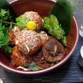 中秋の名月に♪魅惑の『月見肉団子』、鰤の若魚ツバスで作る極上料理 by 自宅料理人ひぃろさん