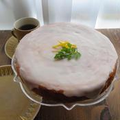 HM使用☆タイムとレモンのヨーグルトケーキ
