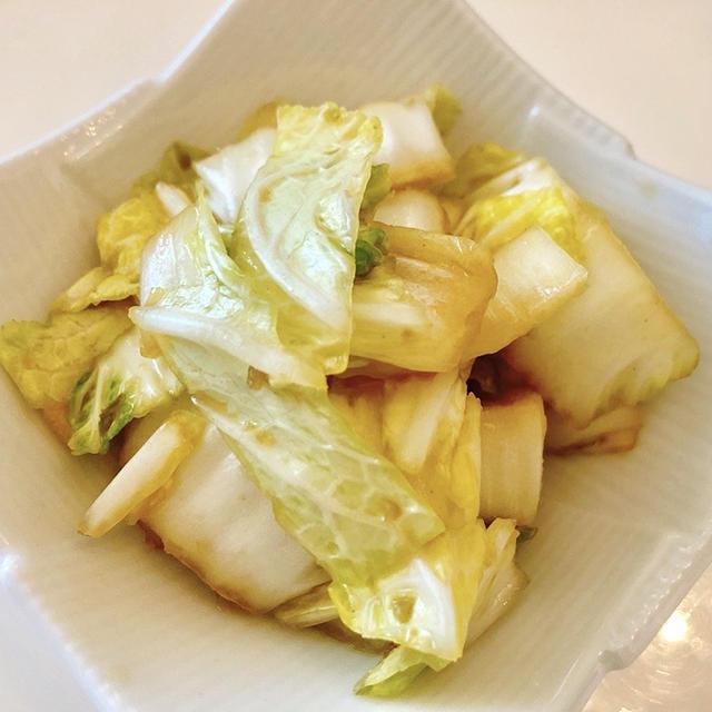 揉むだけ簡単!白菜の柚子胡椒お浸し