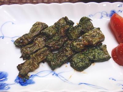 チーズがとろける☆茄子の味噌大葉巻き(レシピ付)