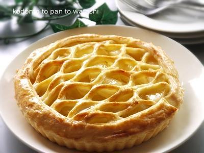 【手作りお菓子】息もできない・・・アップルパイ
