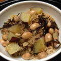 大豆・さつまいも・塩こんぶの炊き込みご飯 by 豊田  亜紀子さん