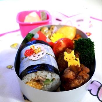 幼稚園のお弁当(年長さん1月)