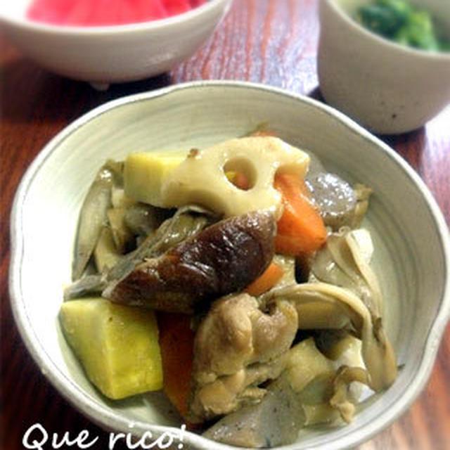 根菜たっぷり、入り煮。
