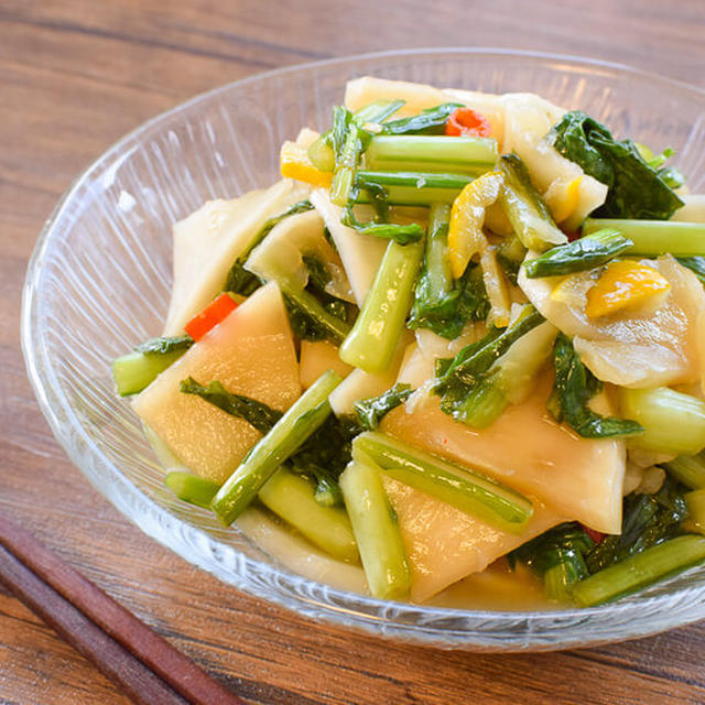 まるで果物!美味しい野沢菜風の柚子カブ絶品お漬物(糖質7.3g)