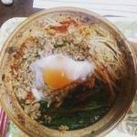 モランボンPREMIUMで鍋焼きごま坦々麺