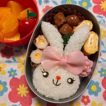 2018/11/06 幼稚園弁当☆ ステラ・ルーになれなかったウサギさん弁当