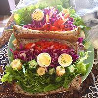 とことん盛りっと手で持って食べるサラダ