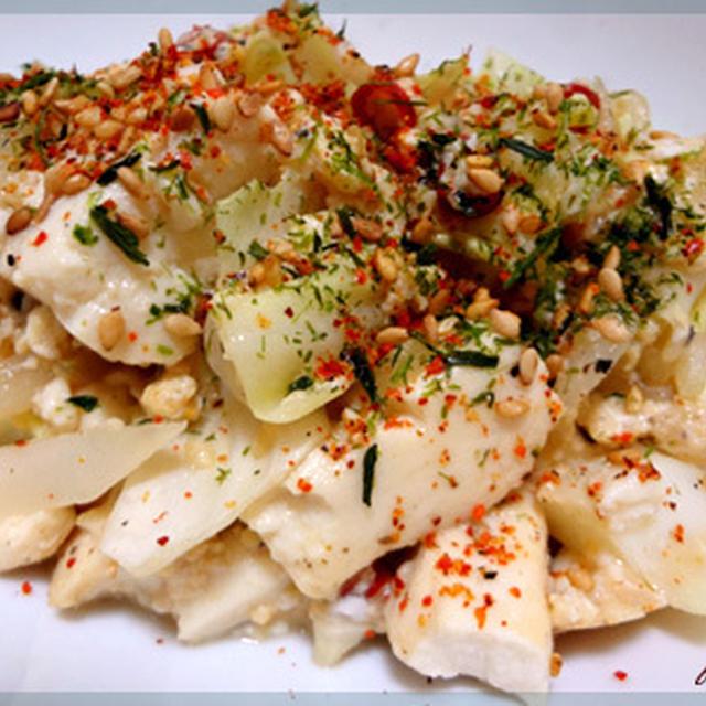 ピリ辛塩豆腐チャンプルー