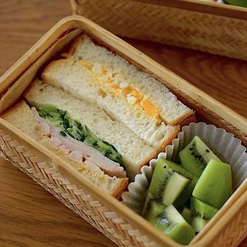 サンドイッチのかんたんキレイな切り方