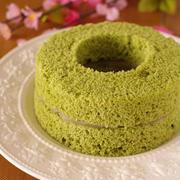 おもてなしにも♪抹茶のシフォンケーキを作ってみよう!