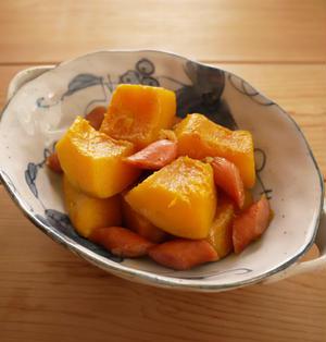 かぼちゃとウインナーの甘煮