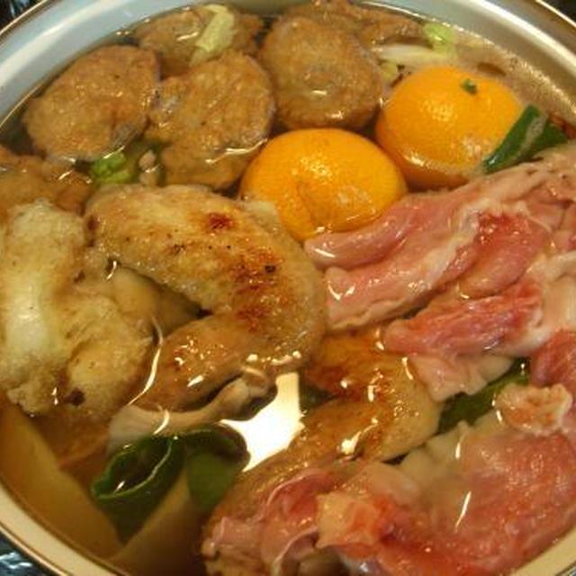 【第81回】イワシのつみれと手羽先の生姜鍋