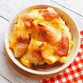コンビニだけ!お豆腐のエッグ&チーズ焼き