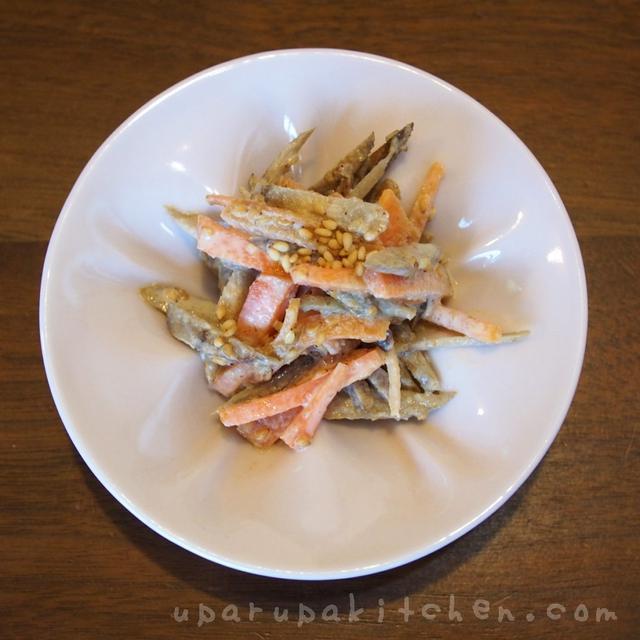 レンジで楽チン!ごぼうサラダ