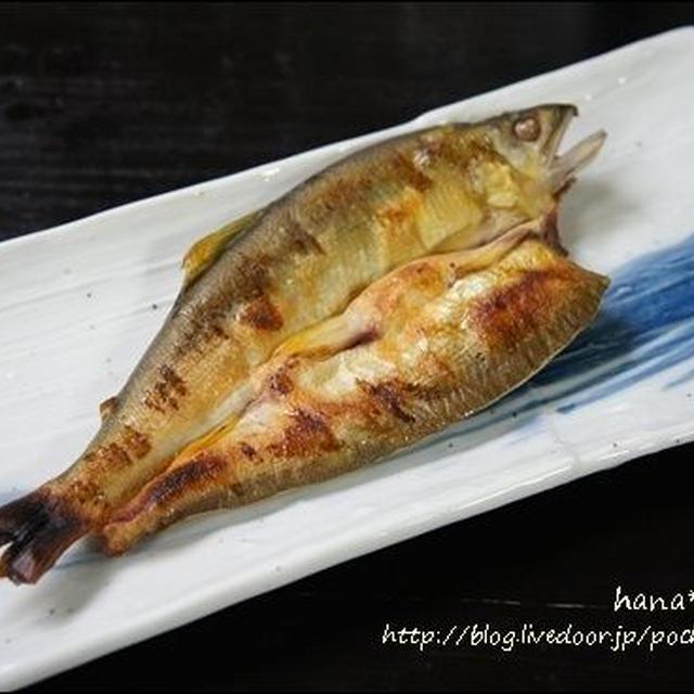 鮎の干物。鮎のオススメ食べ方です♪