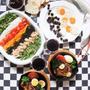 スパイス大使レシピ★レストラン並み!塩麹&ハーブde柔らか鶏モモ肉アヒージョ&たっぷり野菜サラダ