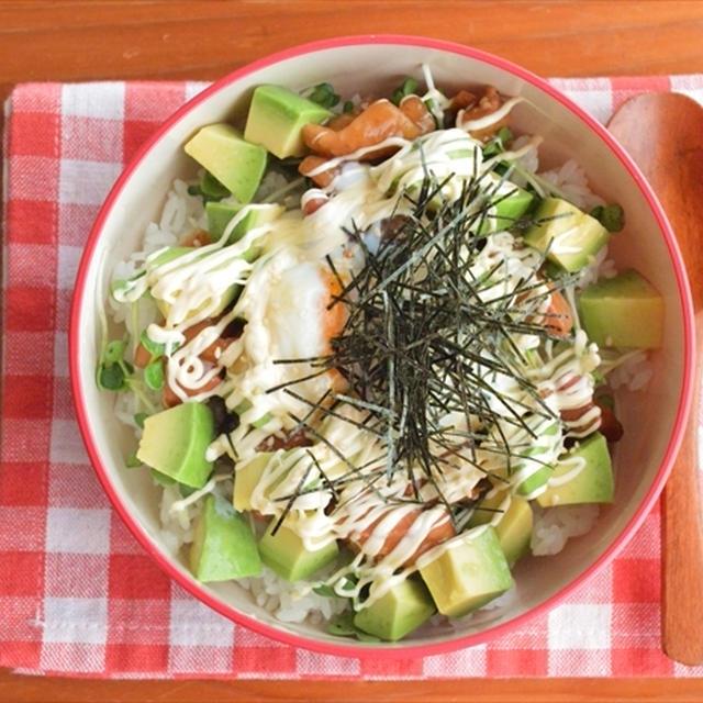 焼き鳥&アボカドのカフェ風丼でおしゃれにおいしく夏バテ対策!~マイナビニュースに掲載~