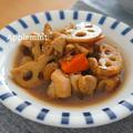 【モニター】オイスターソースが隠し味の筑前煮定食 by アップルミントさん