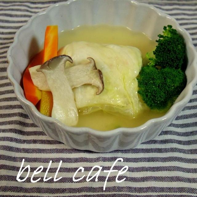 海老豆腐ロールキャベツ