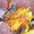 ダッチオーブンで石焼き芋の作り方