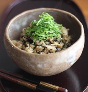 生姜たっぷり☆鶏そぼろとひじきの炊き込みごはん