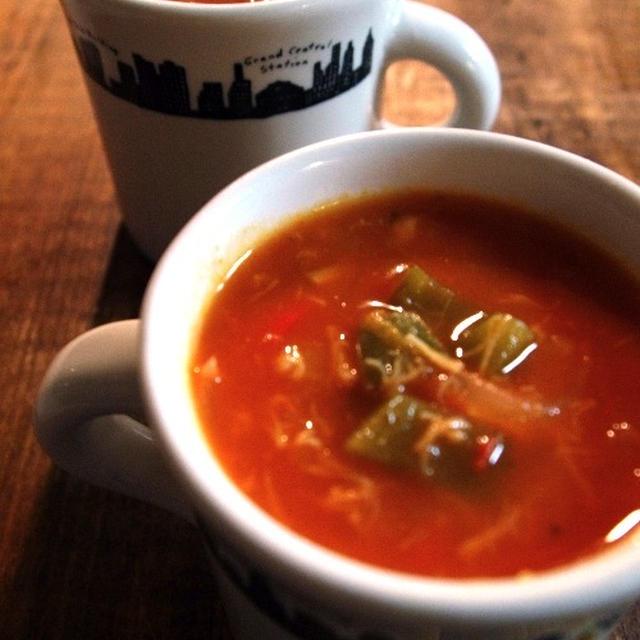 【トマト缶レシピ】トマト缶とほたて缶で「簡単クラムチャウダー」