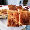 ピックしてきたアメリカンチェリー ~ チーズと蜂蜜のこねないパン