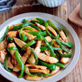 ♡超簡単スピードレシピ♡鶏むね肉とピーマンのチンジャオロース風♡【#時短#節約#お弁当】