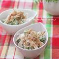 鶏むね肉deしっとりゆで鶏とオクラのおかかマヨ和え by shinkuさん