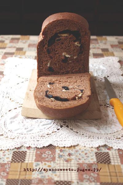 HBメロンパンコースで♪♪オレオ&バナナのココアロールパン