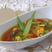 魚介のカレースープ
