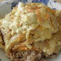 玉葱と絹ごし豆腐の卵とじ