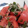 夏はさっぱり☆じゃこしそトマト