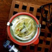 スパイスでかんたんおつまみレシピ・・白菜のピクルスにゃ♪