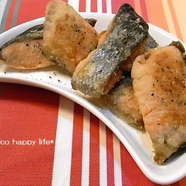 ☆鮭のにんにくチーズ唐揚げ☆