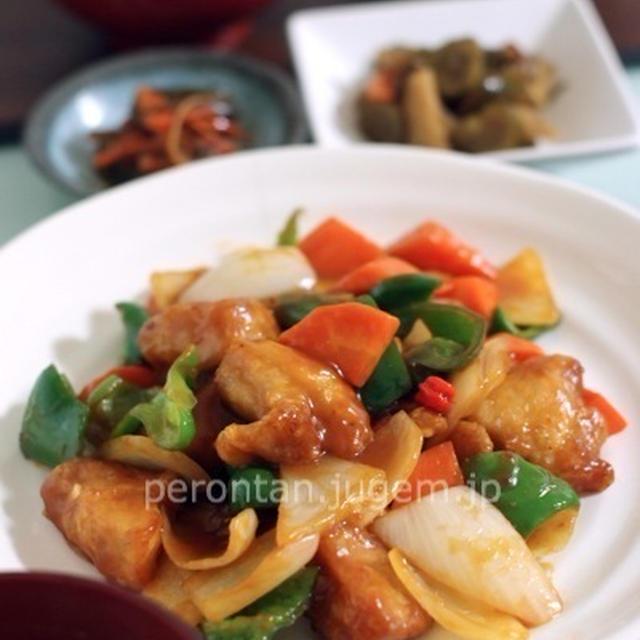 酢豚っぽいけど、鶏肉で〜♪カンタン中華