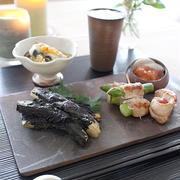 津軽の家庭料理! 赤シソで、茄子のシソ巻き