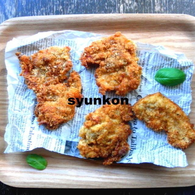 【簡単!!カフェごはん】鶏胸肉で*クリスピーチキン バター醤油味