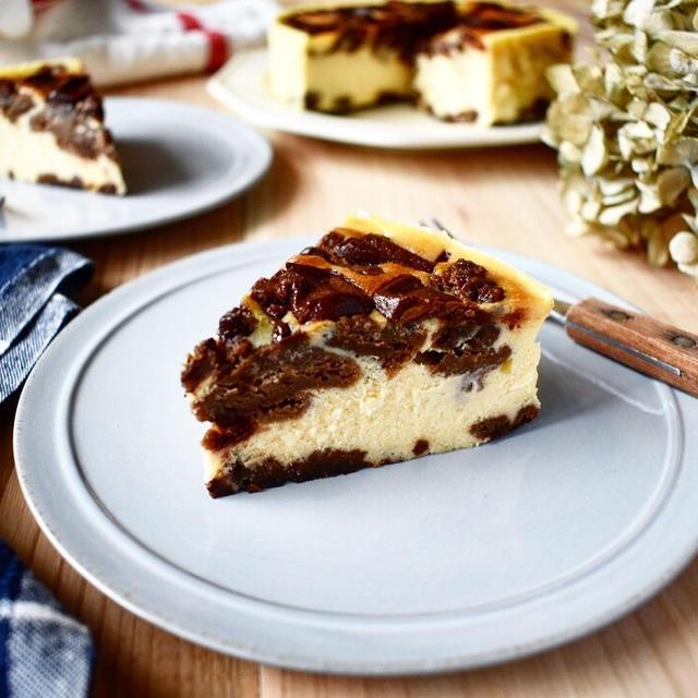 混ぜるだけ。まったりとした口当り【濃厚・チョコクッキー・チーズケーキ】
