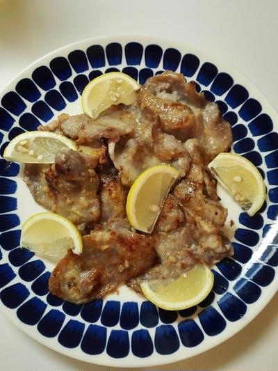作りおき活用ごはん。豚の塩麹漬けレシピ。