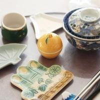 1月料理教室☆箸置きにも注目してくださいね。