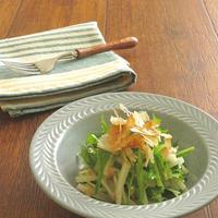 【#牡蠣だし醤油】水菜とだいこんの和風サラダ