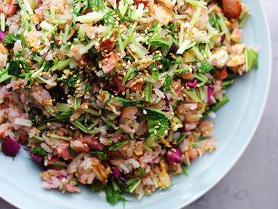 >Mizuna Shiba Fried Rice by Higucciniさん