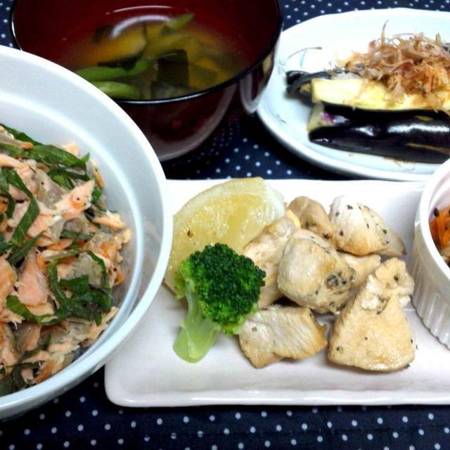 色々な食材と工夫で 簡単・栄養満点な夕食 & 我が家の食事作りのこだわり(^^♪