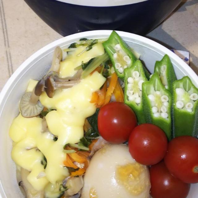 真鱈の蒸し煮弁当